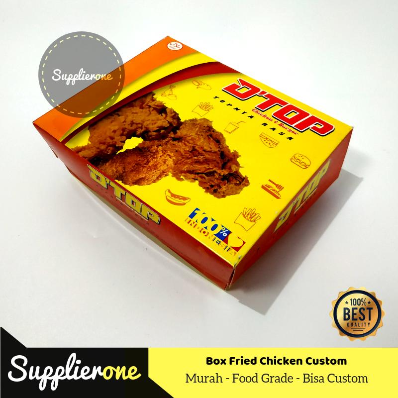 Cetak box fried chicken